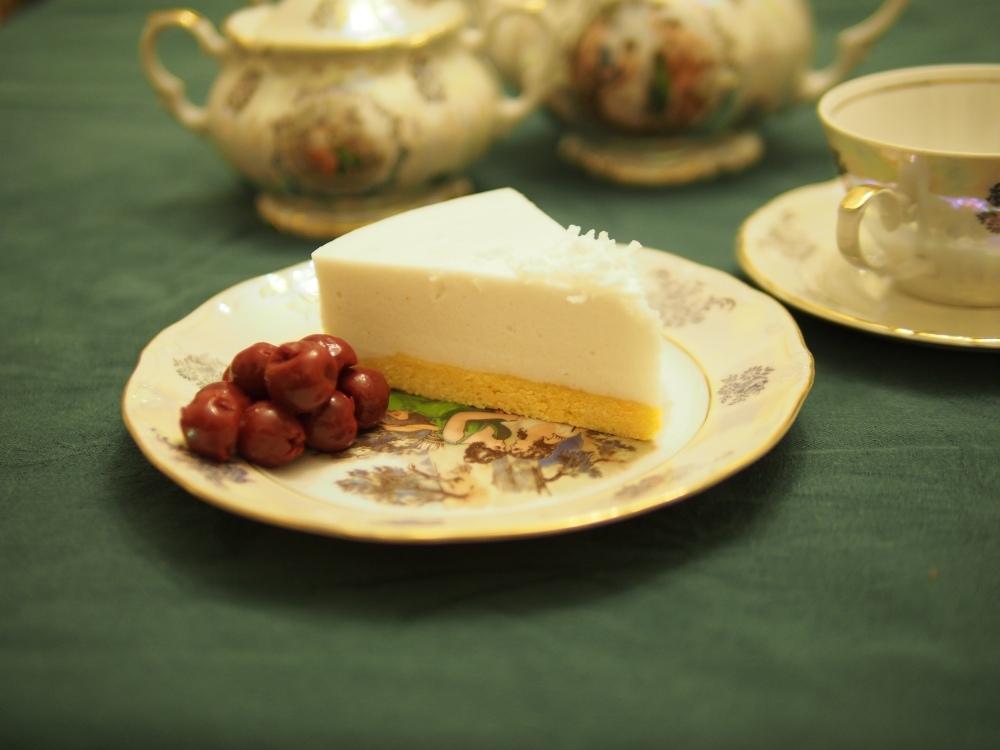 Coconut Souffle Cake