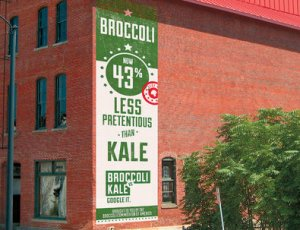 Broccoli or Kale